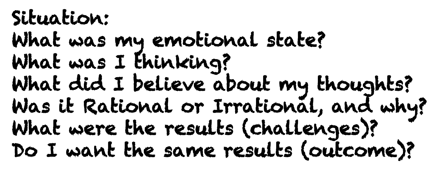 Questions for Rational Thinking
